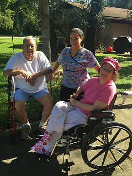 Joe, Aranny & Sharon