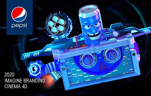 Pepsi 3D Branding