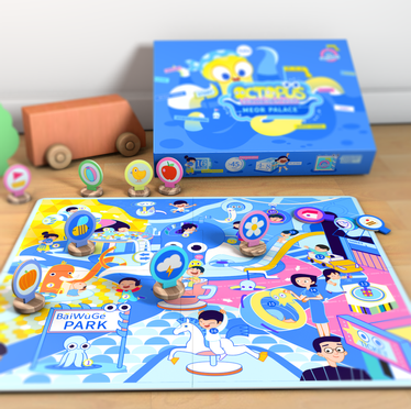 Chidren Edu-Toy Packaging Design
