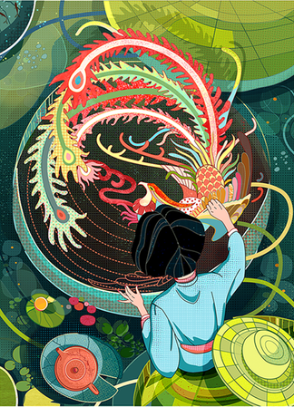 Silk China-Magazin cover