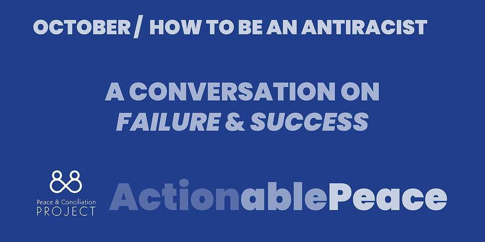 Actionable Peace / October