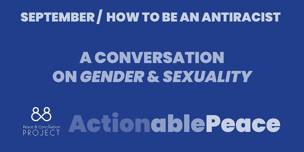 Actionable Peace / September