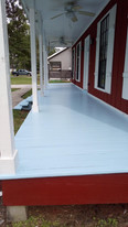 Tongue and groove porch flooring,