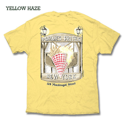 Pommes Frites T Shirt - Yellow Haze