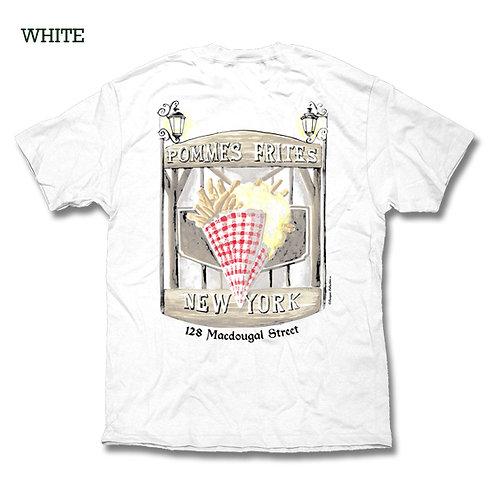 Pommes Frites T Shirt - White