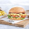 Chicken with Cheese 'n' Salami - فراخ بانيه بالجبنه والسلامي