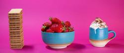 Strawberries and creme