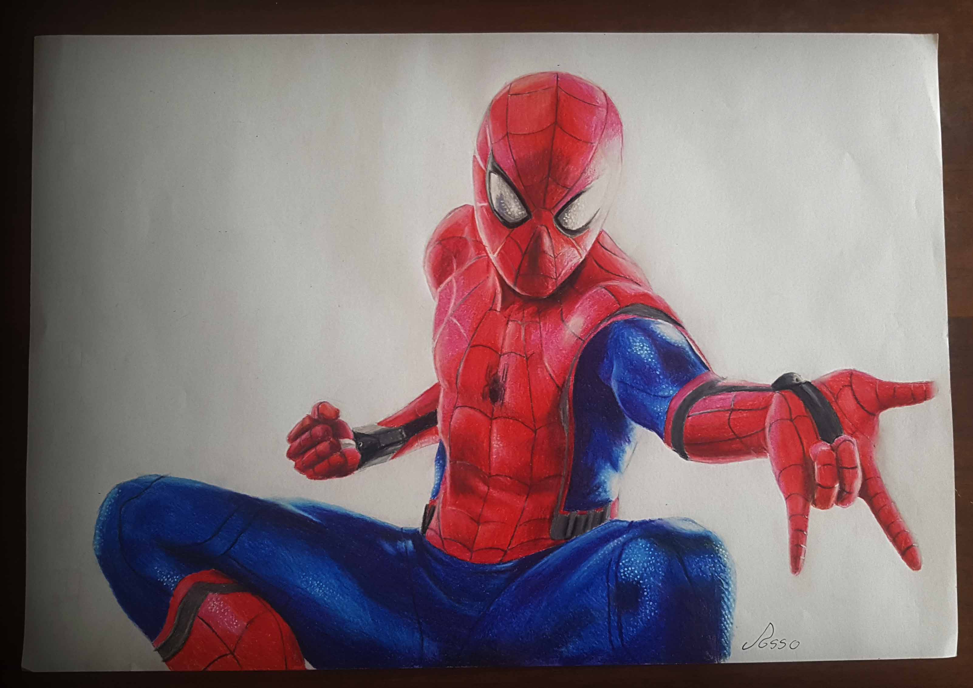 результаты картинки рисунки человек паук возвращение домой странное название