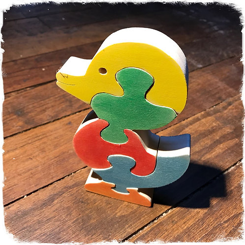 Puzzle canard