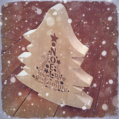 Sapin esprit de Noël