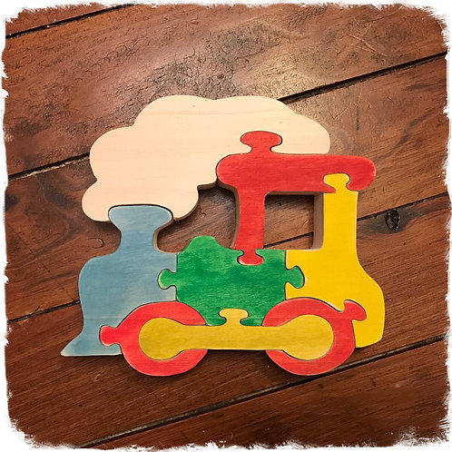 Puzzle locomotive