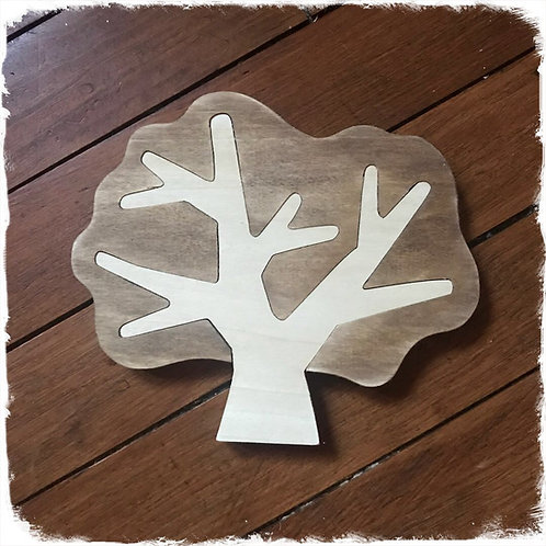 sousplat arbre