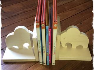 Serre-livres éléphants