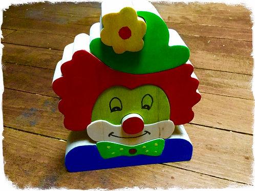 puzzle à empiler clown