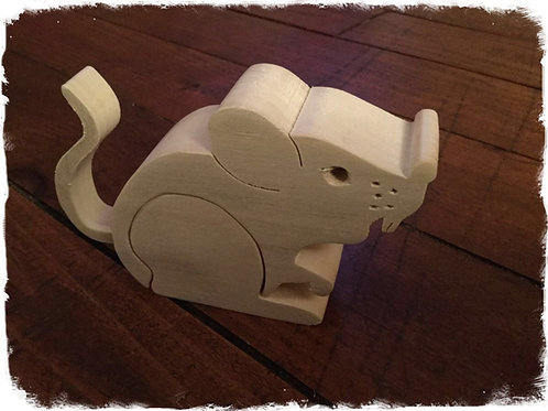 boîte à dent de lait souris