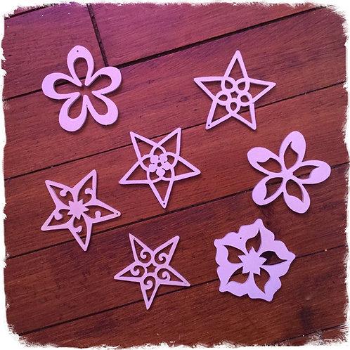 étoiles / décoration pour sapin de Noël