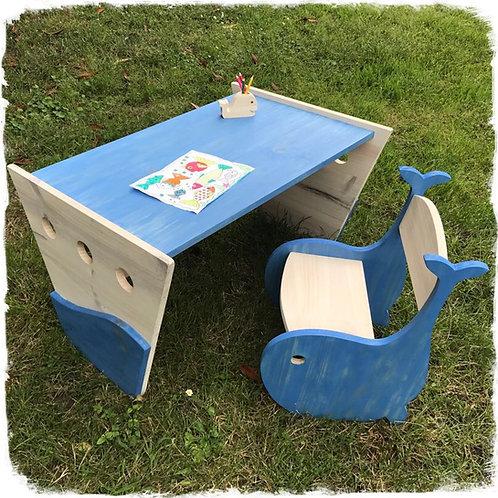 ensemble chaise et bureau moby dick