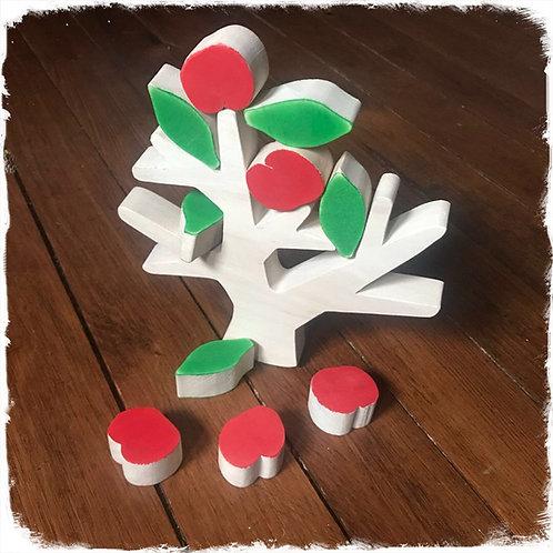 Jeu d'équilibre arbre fruitier