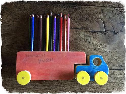 camion porte crayons