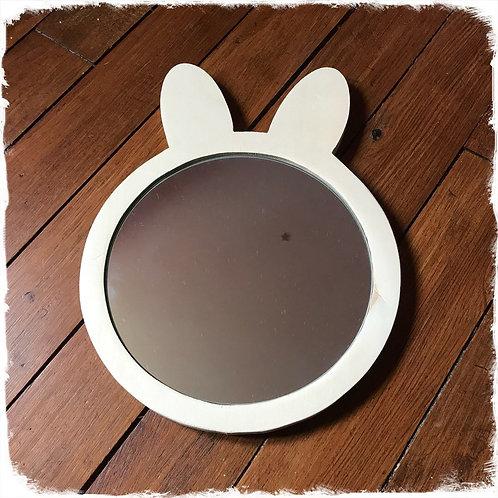 miroir tête de lapin