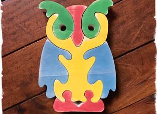 Puzzle hibou