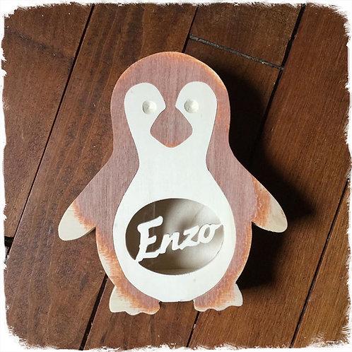 tirelire pingouin