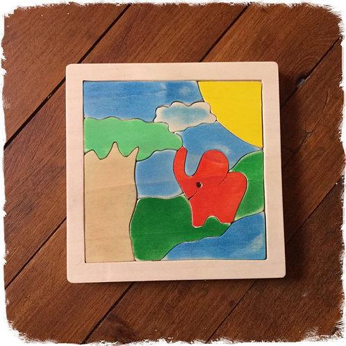 Puzzle / tableau Savane