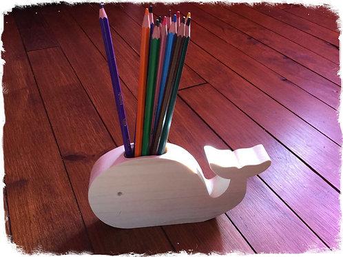 baleine porte crayons