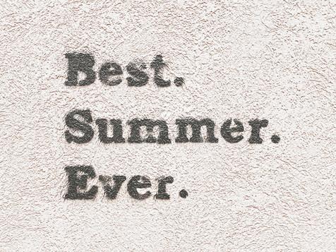 Slowing Down & Enjoying Summer