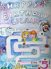 LILAH'S BIRTHDAY CARD