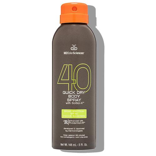 Quick Dry Body Spray SPF 40
