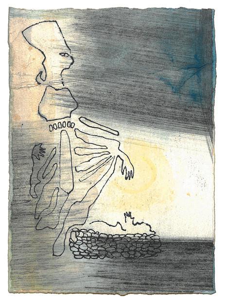 Da kom faraos datter ned til elven for å bade, mens de unge jentene i følget hennes gikk fram og tilbake langs elvebredden. Hun fikk øye på kurven i sivet og sendte en av tjenestejentene sine for å hente den. Så åpnet hun den og fikk se gutten, et lite barn som lå og gråt. Hun syntes synd på ham og sa: «Dette er et av hebreernes guttebarn.» - Andre Mosebok Kapittel 2