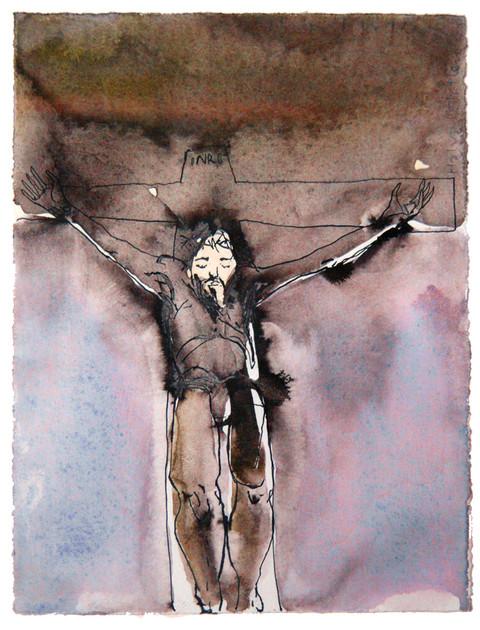 Pilatus hadde laget en innskrift og festet til korset. Den lød: «Jesus fra Nasaret, jødenes konge.» - Evangeliet etter Johannes Kapittel 19
