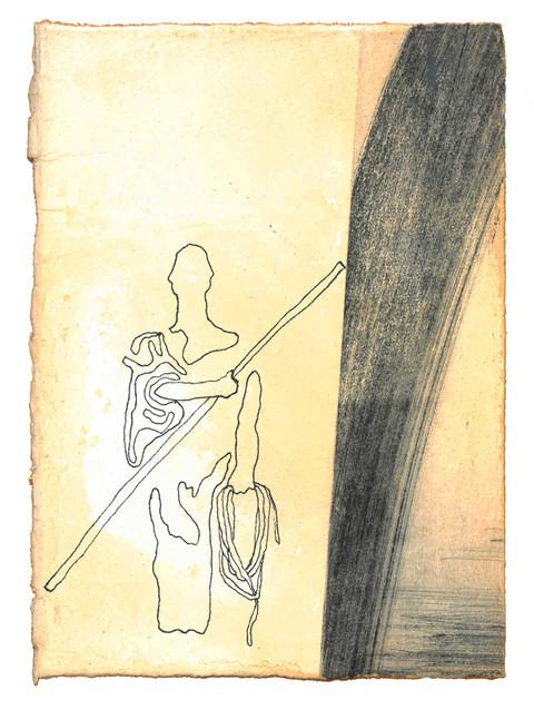 Og se, en mann, lik bronse å se til, sto i porten med linsnor og målestav i hånden. - Esekiel Kapittel  40