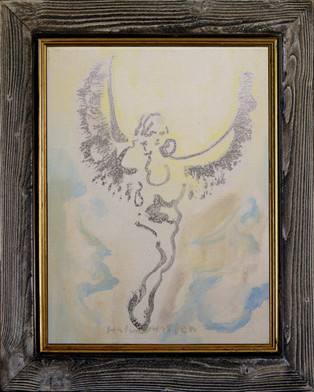 Engel med budskap - Angel with message - 2