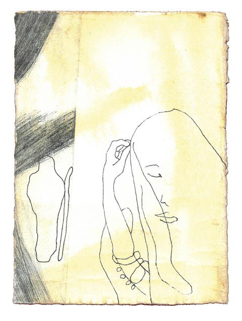 Da Rebekka så opp og fikk øye på Isak, steg hun raskt ned fra kamelen.Hun spurte tjeneren: «Hvem er den mannen som kommer imot oss borte på marken?» Tjeneren svarte: «Det er herren min.» Da tok hun sløret og dekket seg til. - Første Mosebok Kapittel 24