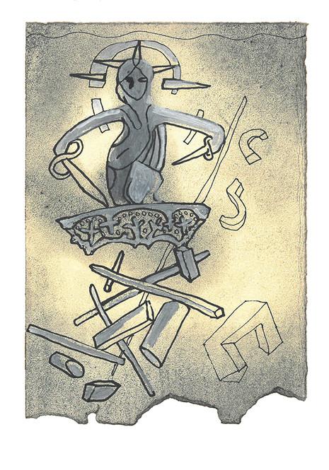 David lot verken mann eller kvinne bli i live så de kunne komme til Gat, for han tenkte: «De kunne fortelle noe om oss og si at David har gjort slik og slik.» På denne måten fór David fram så lenge han bodde i filisternes land. 12 Men Akisj stolte på David og tenkte: «Nå har han gjort seg grundig forhatt i sitt eget folk Israel. Han kommer til å være i min tjeneste for alltid.» - Første Samuelsbok Kapittel 27