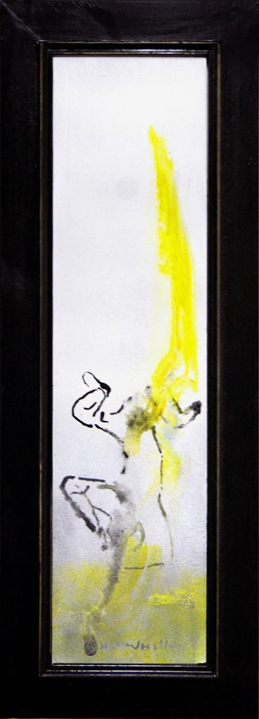 Håpet er lysegult  - The hope is bright yellow