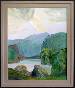 Lyst landskap - Bright landscape