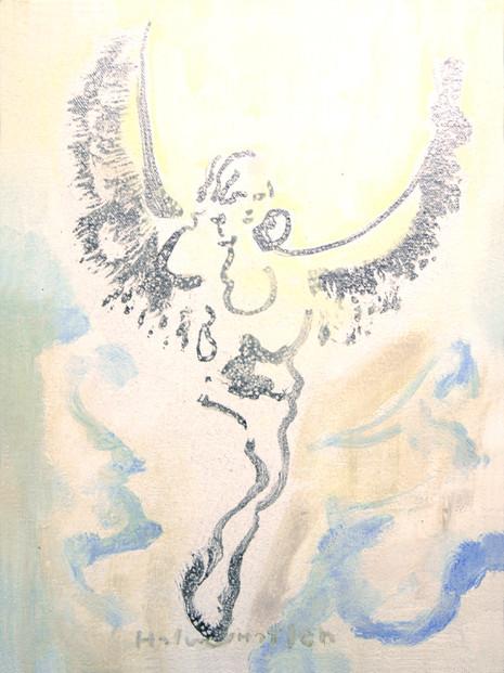 Siden snakket Ester enda en gang med kongen. Hun falt ned for føttene hans, og gråtende tryglet hun ham om å stanse de onde planene som Haman, agagitten, hadde lagt mot jødene. Kongen rettet gullsepteret ut mot Ester. Da reiste hun seg, trådte fram for kongen. - Ester Kapittel 8