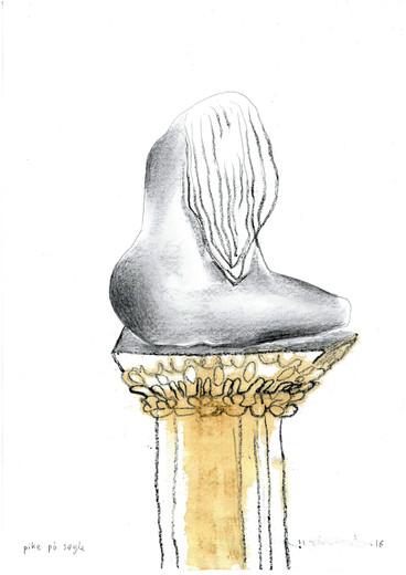 Pike på en søyle - A girl on a pedestal