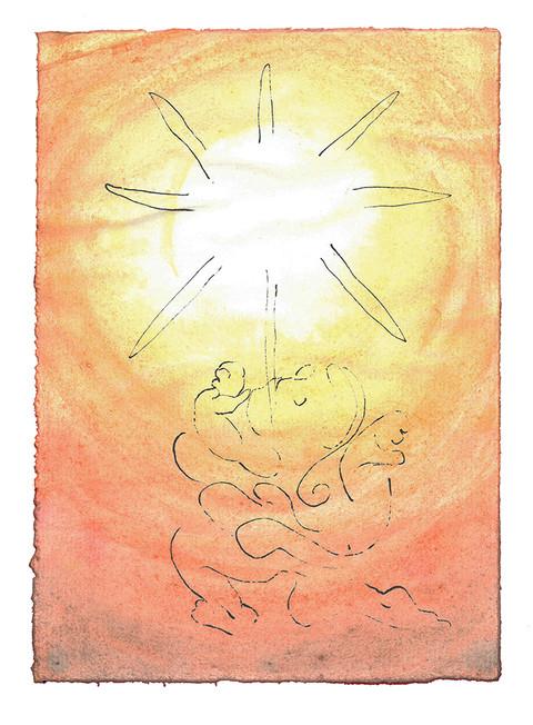 Herren velsigne deg og bevare deg! Herren la sitt ansikt lyse over deg og være deg nådig! Herren løfte sitt ansikt mot deg og gi deg fred! - Fjerde Mosebok Kapittel 6