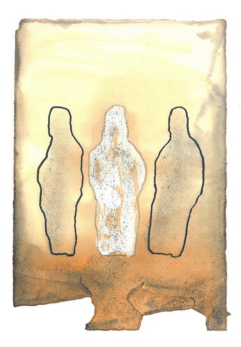 Da skyen trakk seg bort fra teltet, se, da var Mirjam angrepet av en hudsykdom, og huden hennes var som snø. Med det samme Aron snudde seg mot Mirjam, så han at hun var syk. Han sa til Moses: «Herre, straff oss ikke for en synd vi gjorde i dårskap. La ikke Mirjam være lik et dødt foster som er halvveis borttært når det kommer ut av mors liv!» - Fjerde Mosebok Kapittel 12