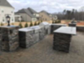 fort mill custom swing and paver patio