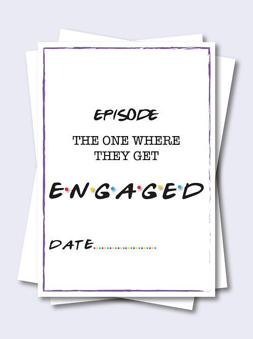 Friend Inspired Wedding Milestone Card