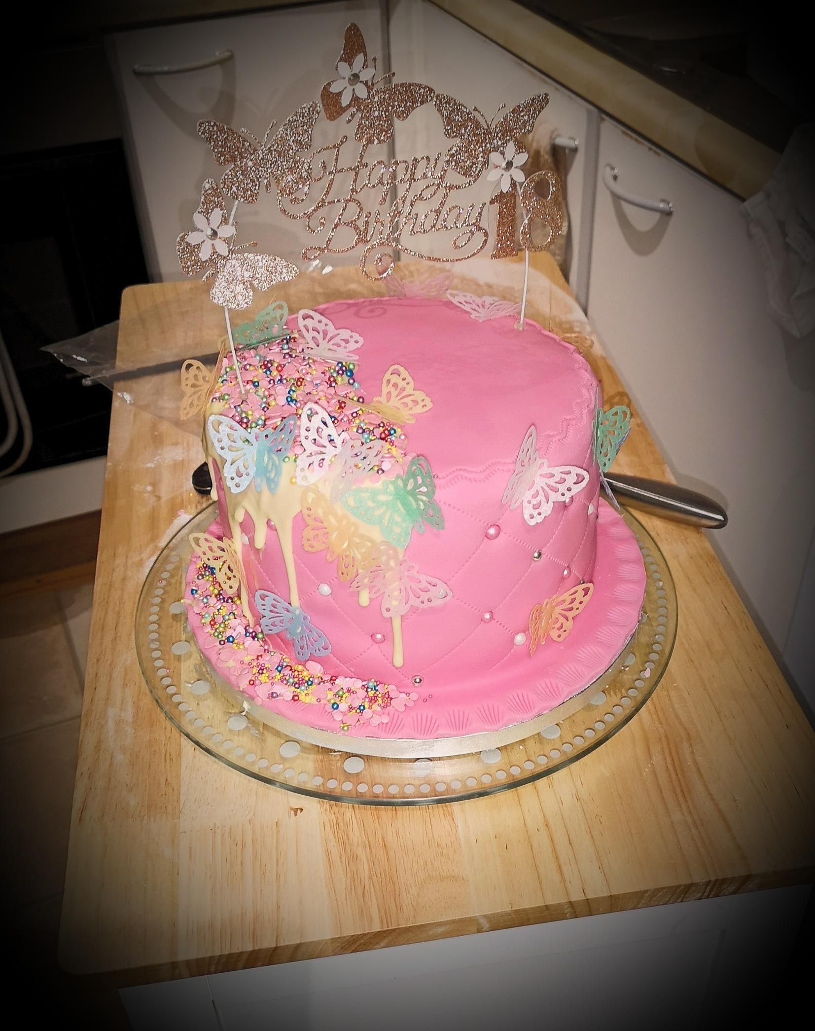Celebration Cake (Topper not included)