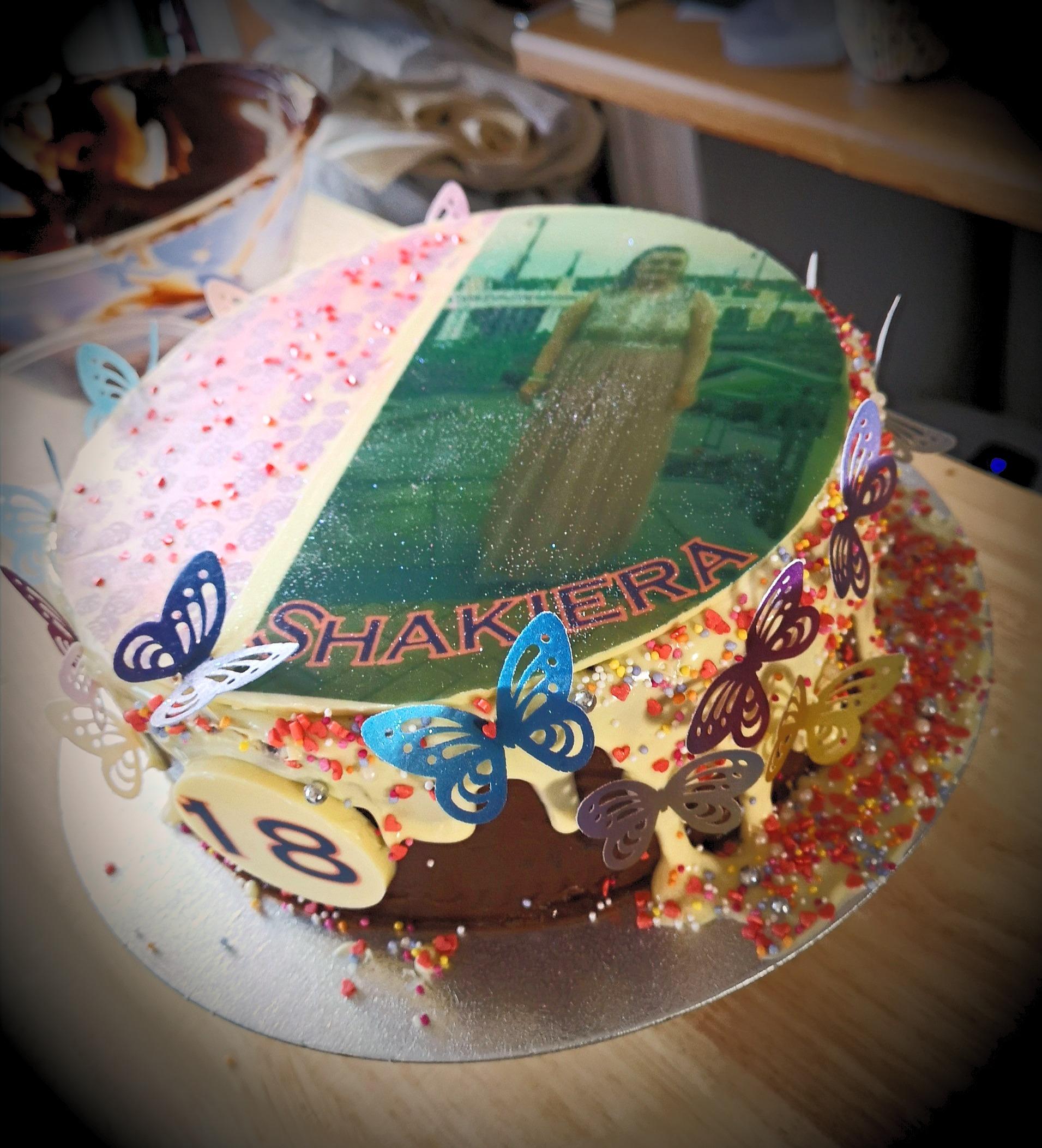 Printed Celebration Cake