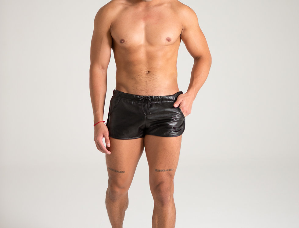 LEATHER SPORT SHORT