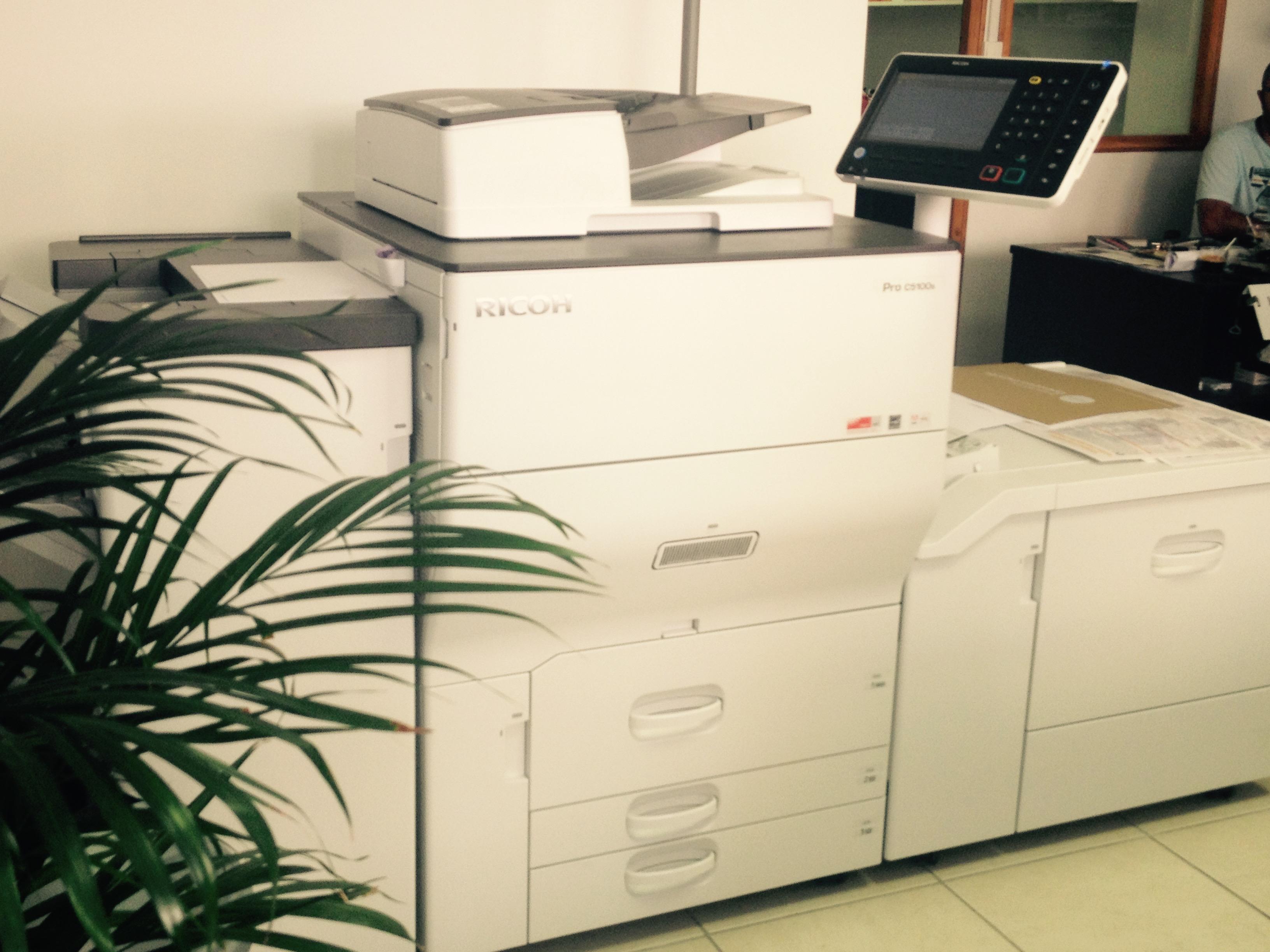 Photocopie couleurs et noir et blanc