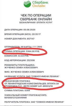 САНКТ-ПЕТЕРБУРГСКОЕ ОТДЕЛЕНИЕ ЛКСМ РФ ПОДДЕРЖАЛО ГРУДИНИНА и СОВХОЗ ИМЕНИ ЛЕНИНА